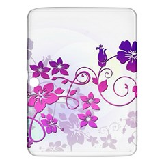 Floral Garden Samsung Galaxy Tab 3 (10 1 ) P5200 Hardshell Case  by Colorfulart23