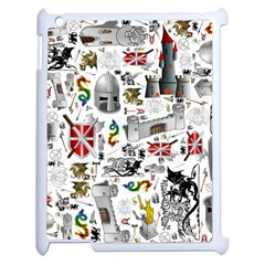 Medieval Mash Up Apple Ipad 2 Case (white) by StuffOrSomething