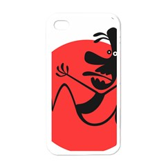 Running Man Apple Iphone 4 Case (white) by StuffOrSomething