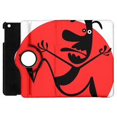 Running Man Apple Ipad Mini Flip 360 Case by StuffOrSomething