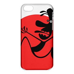 Running Man Apple Iphone 5c Hardshell Case by StuffOrSomething