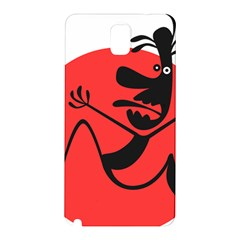 Running Man Samsung Galaxy Note 3 N9005 Hardshell Back Case by StuffOrSomething