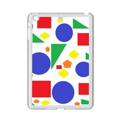 Random Geometrics Apple Ipad Mini 2 Case (white) by StuffOrSomething