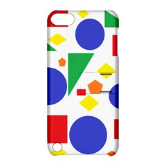 Random Geometrics Apple Ipod Touch 5 Hardshell Case With Stand by StuffOrSomething