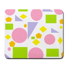 Spring Geometrics Large Mouse Pad (rectangle) by StuffOrSomething