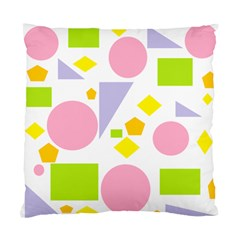 Spring Geometrics Cushion Case (two Sided)  by StuffOrSomething