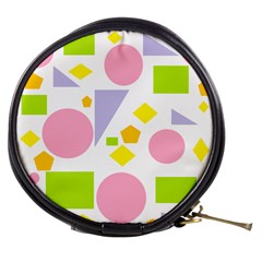 Spring Geometrics Mini Makeup Case by StuffOrSomething