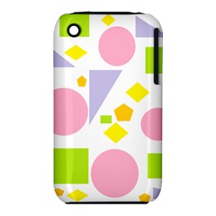 Spring Geometrics Apple Iphone 3g/3gs Hardshell Case (pc+silicone) by StuffOrSomething