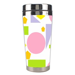 Spring Geometrics Stainless Steel Travel Tumbler by StuffOrSomething