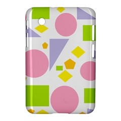 Spring Geometrics Samsung Galaxy Tab 2 (7 ) P3100 Hardshell Case  by StuffOrSomething