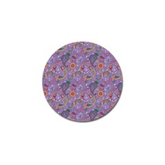 Purple Paisley Golf Ball Marker by StuffOrSomething