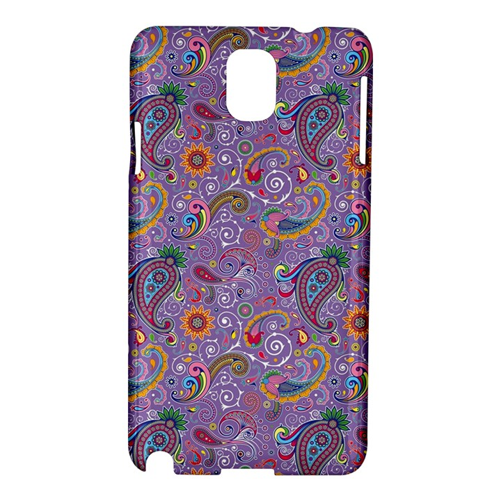 Purple Paisley Samsung Galaxy Note 3 N9005 Hardshell Case