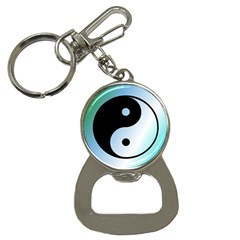 Ying Yang  Bottle Opener Key Chain by Siebenhuehner