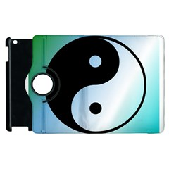 Ying Yang  Apple Ipad 2 Flip 360 Case