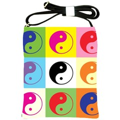 Ying Yang   Shoulder Sling Bag by Siebenhuehner