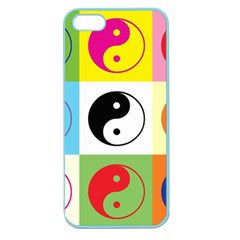 Ying Yang   Apple Seamless Iphone 5 Case (color) by Siebenhuehner
