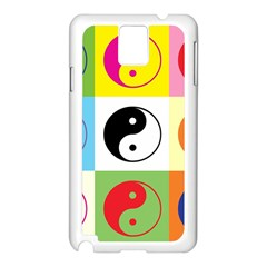 Ying Yang   Samsung Galaxy Note 3 N9005 Case (white) by Siebenhuehner