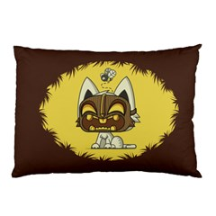 Tiki Kitty Pillow Case
