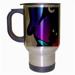Dog Travel Mug (silver Gray)