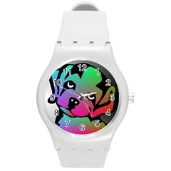 Dog Plastic Sport Watch (medium) by Siebenhuehner