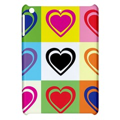 Hearts Apple Ipad Mini Hardshell Case by Siebenhuehner