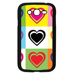 Hearts Samsung Galaxy Grand Duos I9082 Case (black) by Siebenhuehner