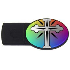 Cross 2gb Usb Flash Drive (oval) by Siebenhuehner