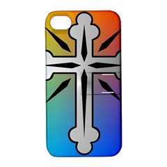 Cross Apple Iphone 4/4s Hardshell Case With Stand by Siebenhuehner