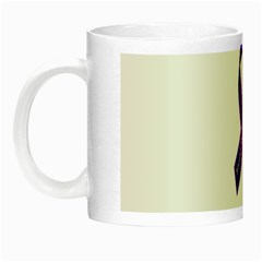 Fibro Awareness Ribbon Glow In The Dark Mug