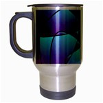 Pattern Travel Mug (Silver Gray) Left