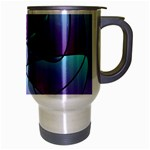 Pattern Travel Mug (Silver Gray) Right