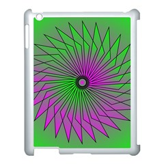 Pattern Apple Ipad 3/4 Case (white) by Siebenhuehner