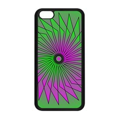 Pattern Apple Iphone 5c Seamless Case (black) by Siebenhuehner