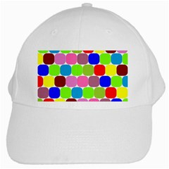 Color White Baseball Cap by Siebenhuehner