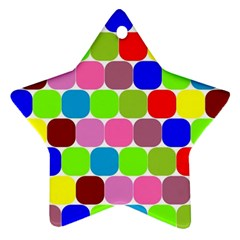 Color Star Ornament by Siebenhuehner
