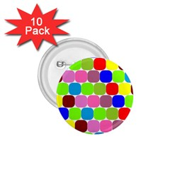 Color 1 75  Button (10 Pack) by Siebenhuehner