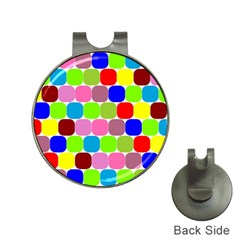 Color Hat Clip With Golf Ball Marker by Siebenhuehner