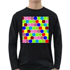 Color Men s Long Sleeve T-shirt (dark Colored) by Siebenhuehner