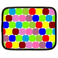 Color Netbook Sleeve (xl) by Siebenhuehner