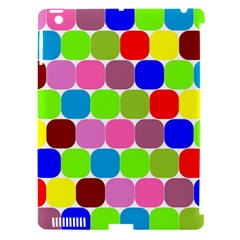 Color Apple Ipad 3/4 Hardshell Case (compatible With Smart Cover) by Siebenhuehner