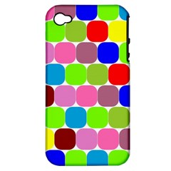 Color Apple Iphone 4/4s Hardshell Case (pc+silicone) by Siebenhuehner
