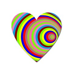 Color Magnet (heart) by Siebenhuehner