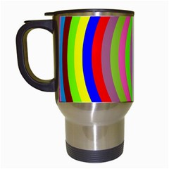 Color Travel Mug (white) by Siebenhuehner