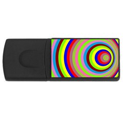 Color 4gb Usb Flash Drive (rectangle) by Siebenhuehner