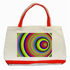 Color Classic Tote Bag (red) by Siebenhuehner