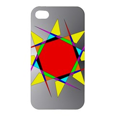 Star Apple Iphone 4/4s Premium Hardshell Case by Siebenhuehner
