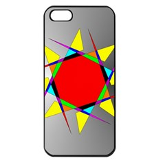 Star Apple Iphone 5 Seamless Case (black) by Siebenhuehner