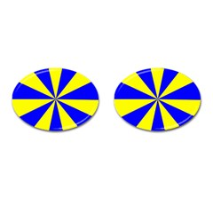 Pattern Cufflinks (oval) by Siebenhuehner