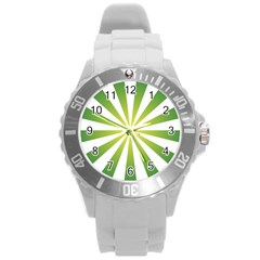 Pattern Plastic Sport Watch (large) by Siebenhuehner