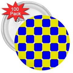 Pattern 3  Button (100 Pack) by Siebenhuehner